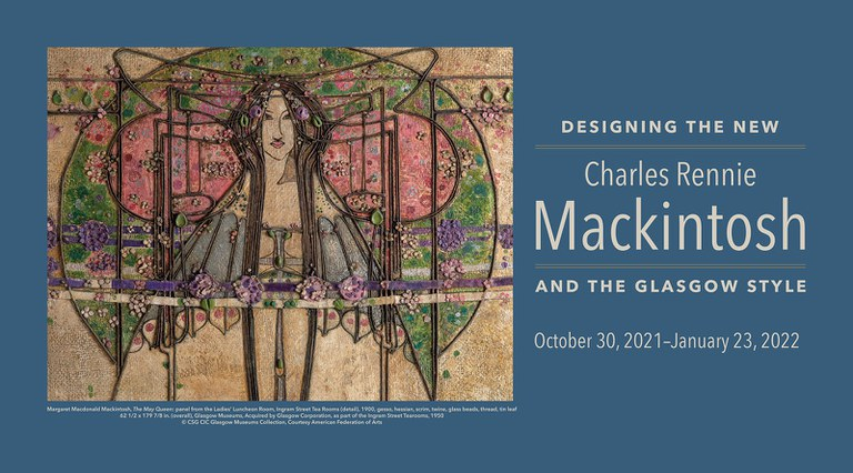 Designing the New: Charles Rennie Mackintosh and the Glasgow Style banner
