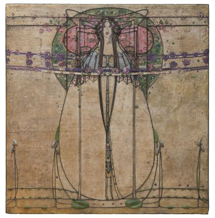 Margaret Macdonald Mackintosh, The May Queen (detail)