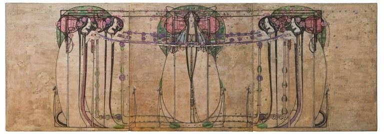 Margaret Macdonald Mackintosh, The May Queen