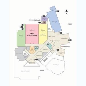 Albuquerque Museum Map and Floor Plan