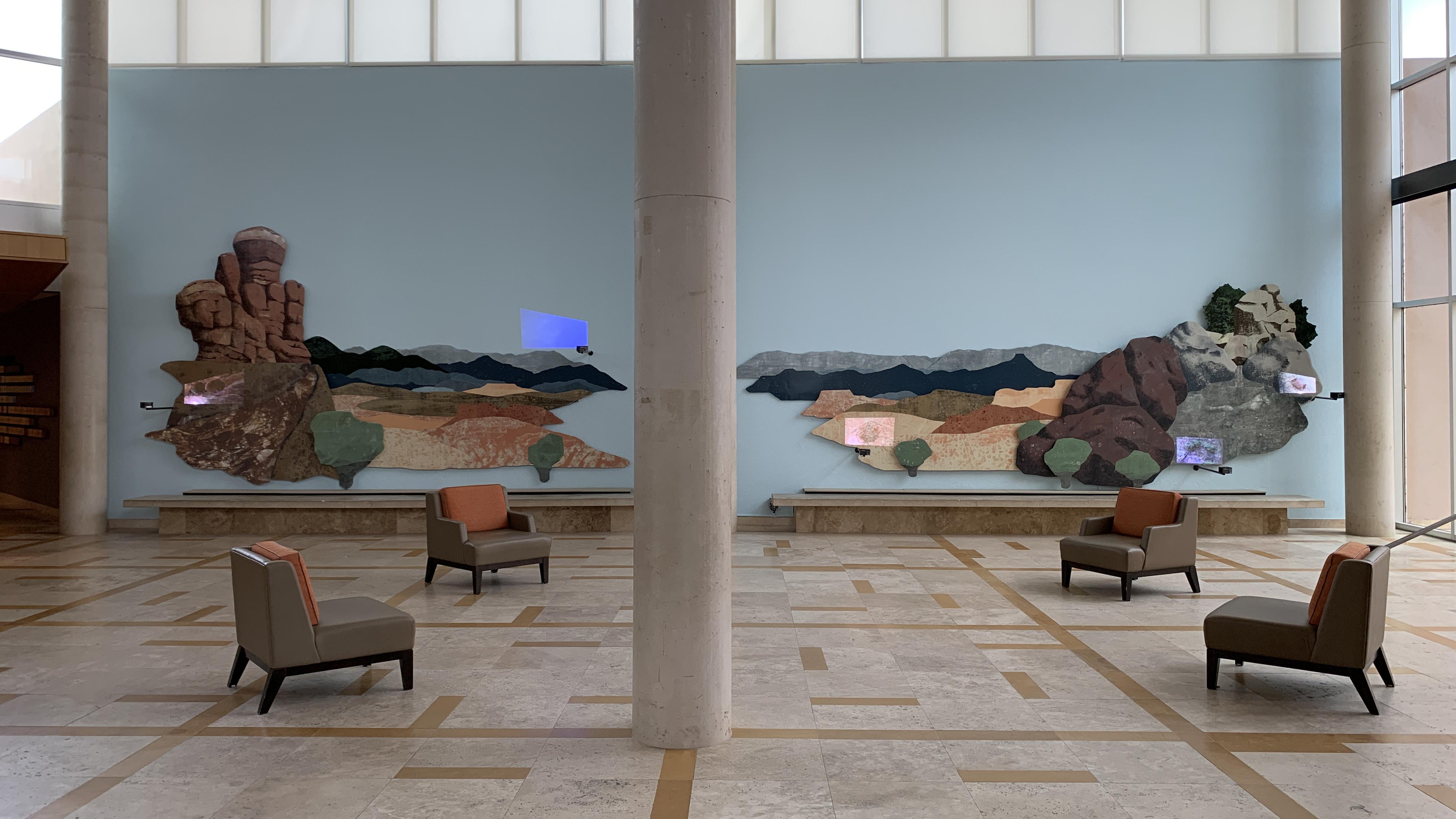 Nicola Lopez, Haunted, installation view