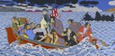 Roger Shimomura, Shimomura Crossing the Delaware