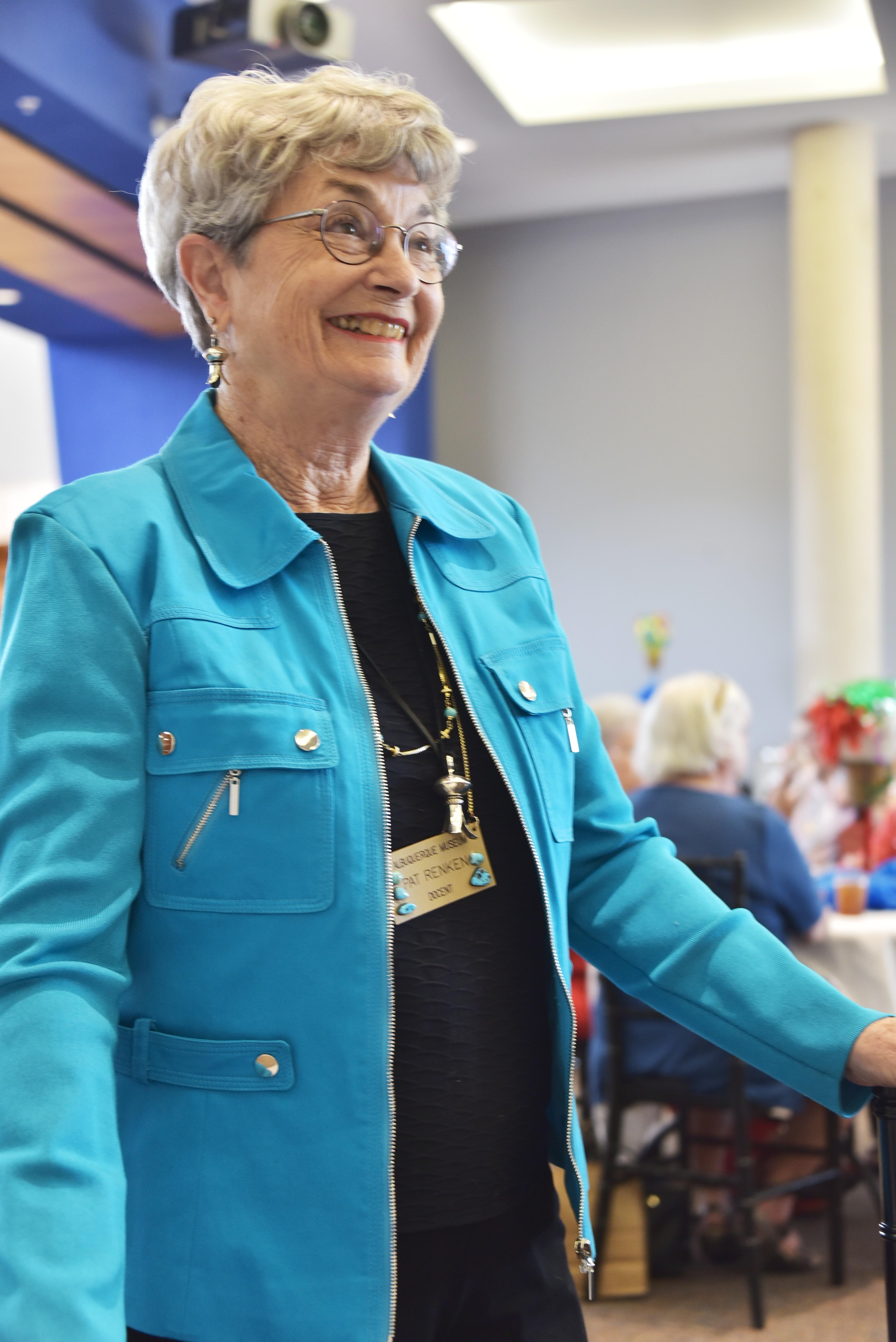 Albuquerque Museum Docent Pat Renken 2018