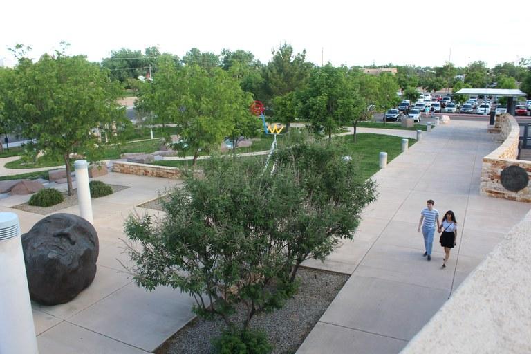 Albuquerque Museum Sculpture Garden Photo by Nora Vanesky