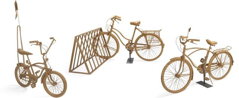 Three Bicycles Crop Yoshimura