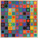 Vasarely Victor - Untitled