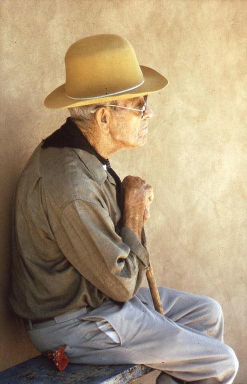 Walter McDonald, Elderly Man