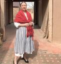 18th C Women's Clothing Casa San Ysidro Magic Bus lesson