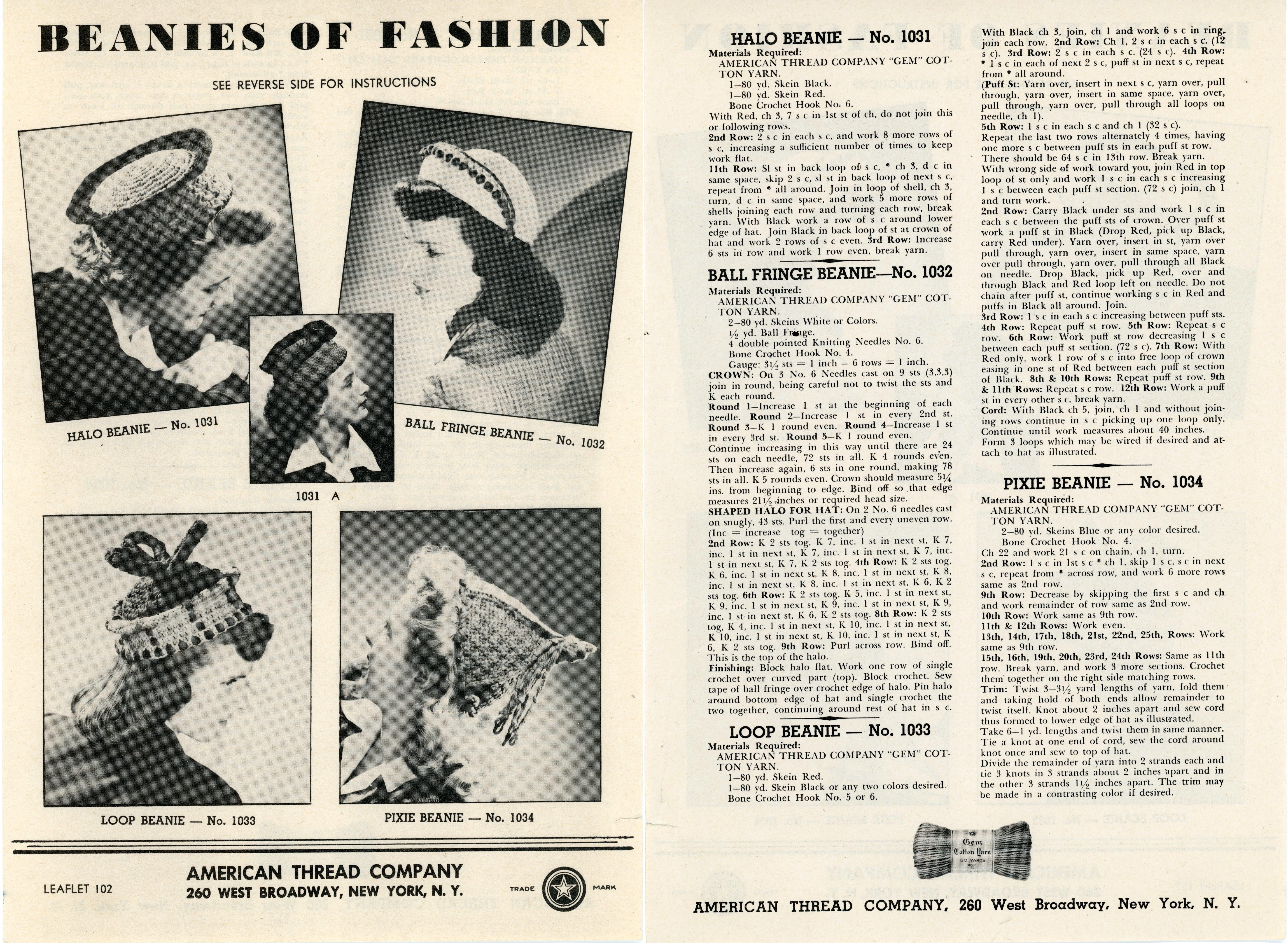 Beanies of Fashion