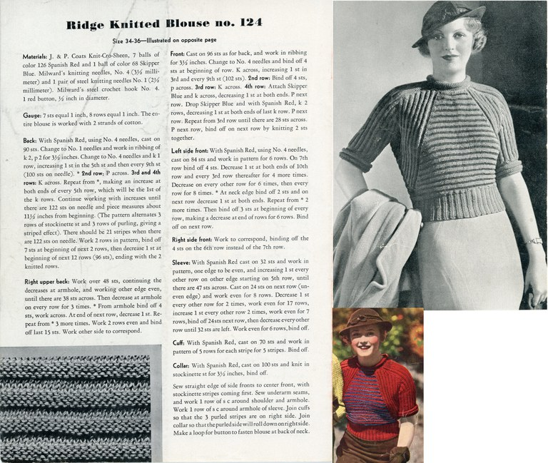 Ridge Knitted Blouse