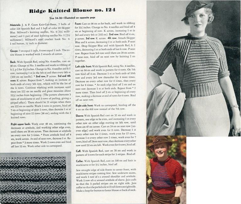 Ridge Knitted Blouse