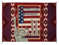 9/11 Traditional weaving delivers message of unity that connects the Diné and wider United States communities