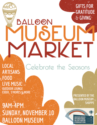 6th Annual Balloon Museum Holiday Market