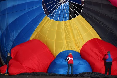 Stories and Music In The Sky - Hot Air Balloons!  LOCATION CHANGE DURING FIESTA WEEK!!!
