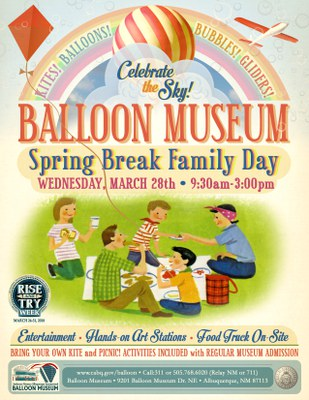 Stories and Music in the Sky - Spring Break Family Day