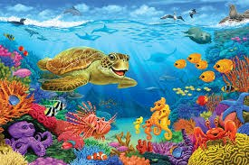 Stories and Music In The Sky - UNDER THE SEA