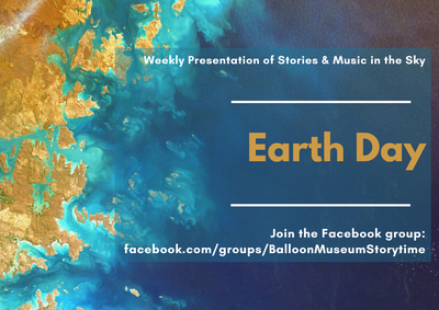 Stories & Music in the Sky Virtual Story Time - Earth Day