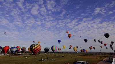 The Albuquerque International Balloon Fiesta: Then and Now