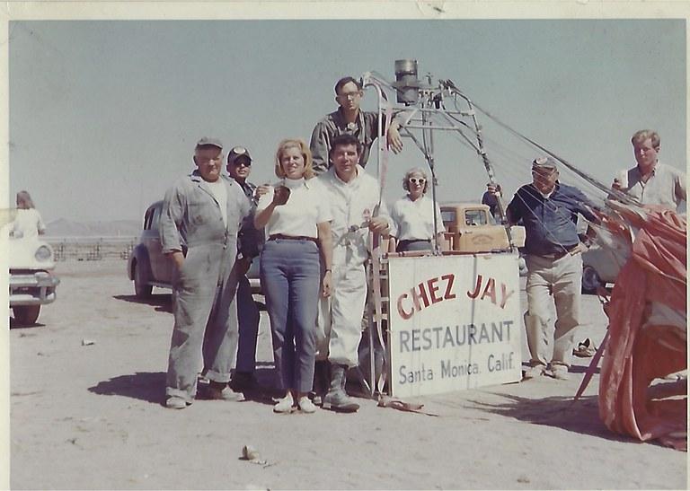 Jay Fiondella at the 1964 Reno Air Races