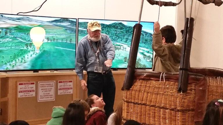 Balloon Museum Volunteer