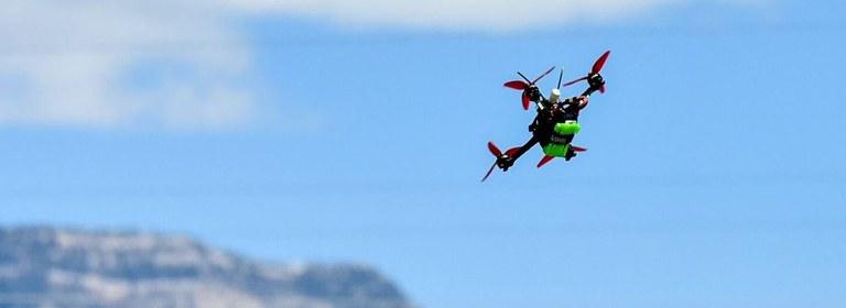 Flying FPV Drone 2