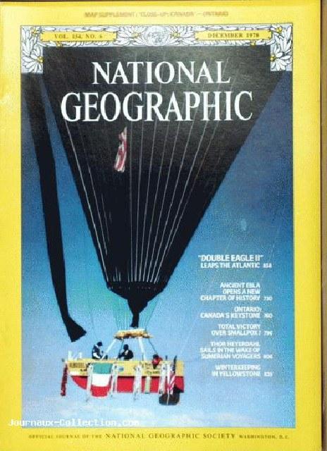 DE II Natl Geo cover