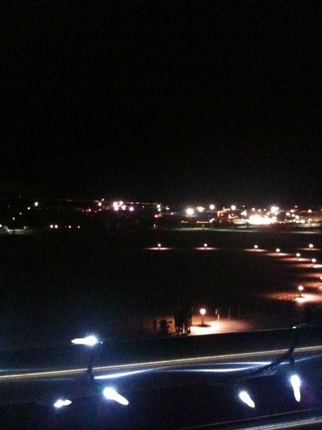 Spiral Resonance Field Night View