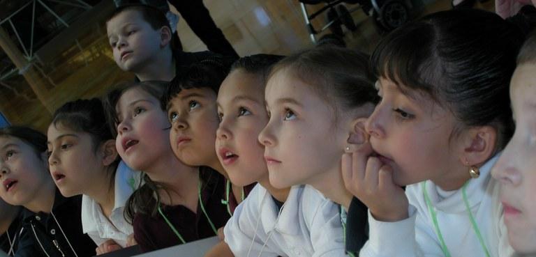 Balloon Museum students 2