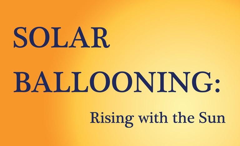 Solar Ballooning title panel
