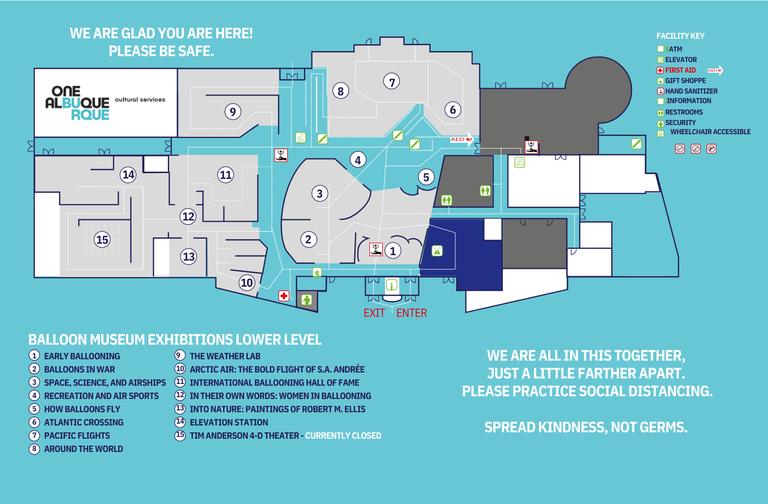 Balloon Museum Floorplan