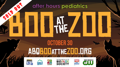 Boo at the Zoo - SOLD OUT