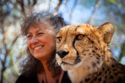 Dinner with Laurie Marker, Cheetah Conservationist
