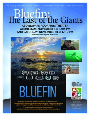 Film Screening: Bluefin, The Last of the Giants