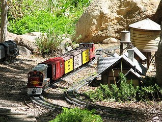 Train Tracks in your Garden Show - CANCELED
