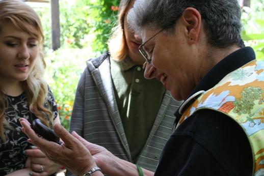 Anne, Botanic Garden Docent