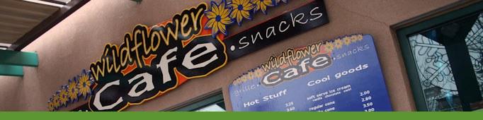 wildflower cafe banner