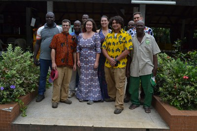 Special gift from Abidjan Zoo 2016 visit. ABQ BioPark staff.