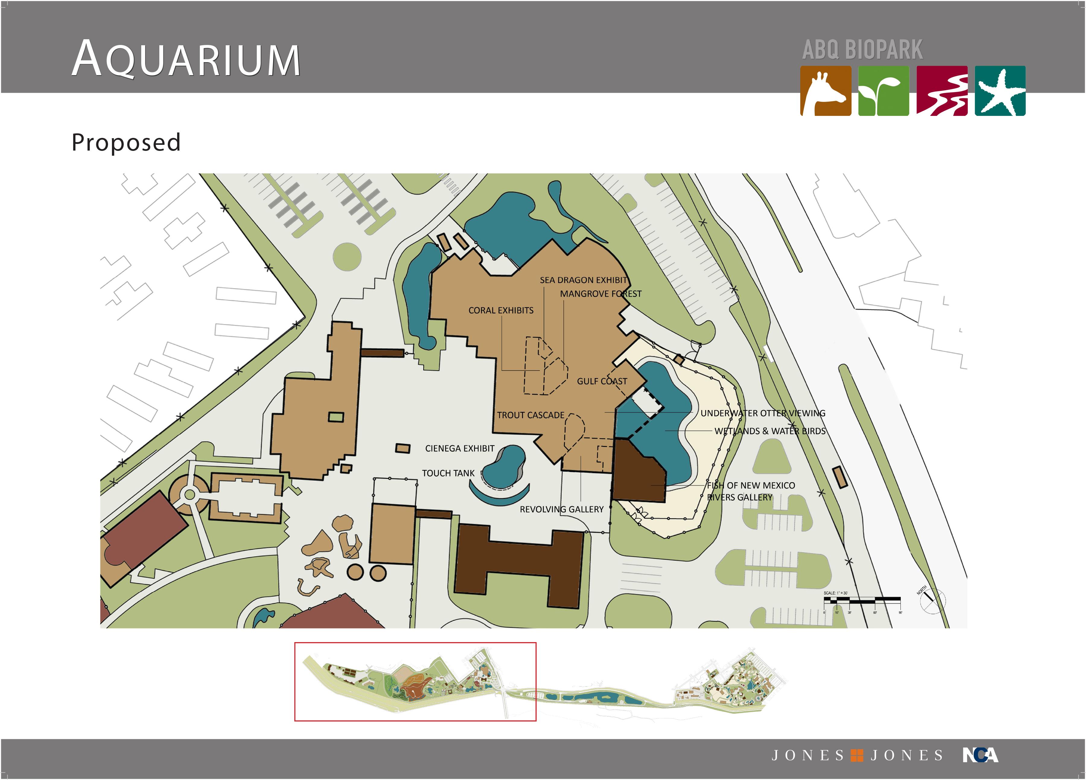 Master Plan Slide Aquarium