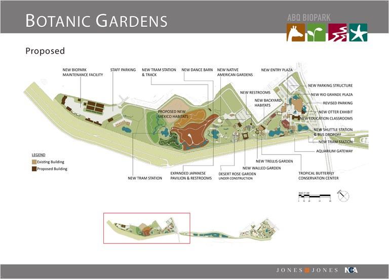 Master Plan Slide Botanic Garden