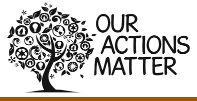 Our Actions Matter Banner