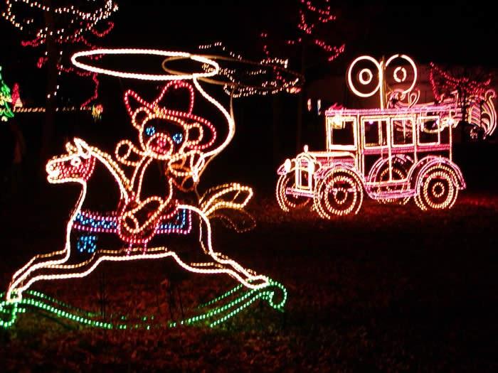 River of Lights- Cowboy Teddy Bear