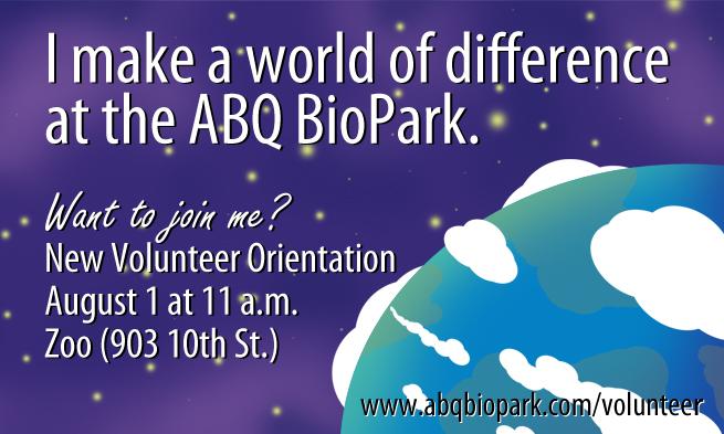 Volunteer World Invite