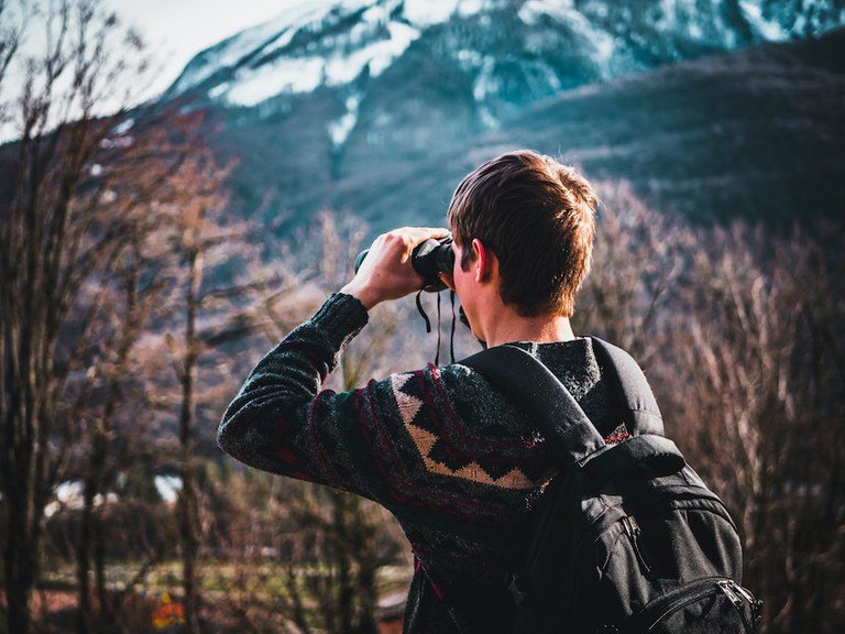 Binoculars Citizen Science BioPark Connect