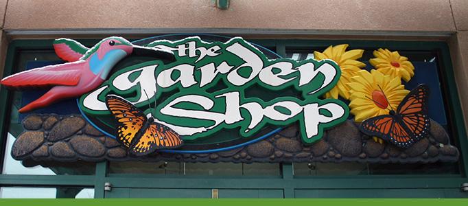 The Garden Shop Banner