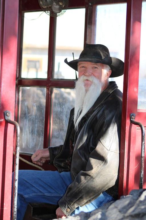 Greg Genes BioPark Train Driver.