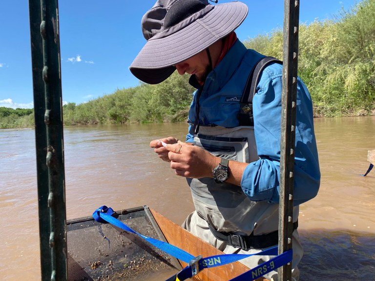 Silvery Minnow Collection Spring 2020 (Image 2, staff member)