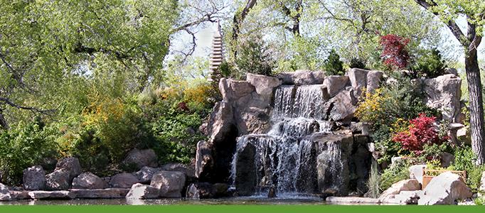 Japanese Garden Banner, Botanic Garden