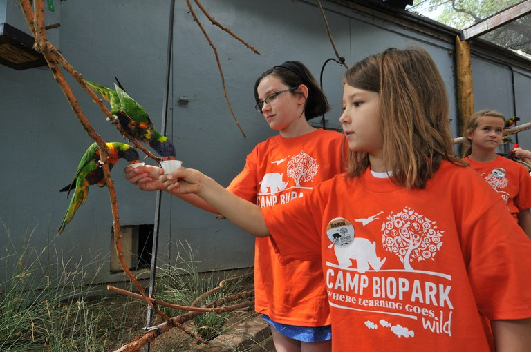 BioPark Camps and Classes