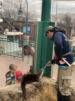 Otter Mayhem with Trainer Matt, 2018