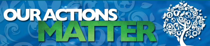 Our Actions Matter - Banner